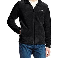 Columbia Men's Steens Mountain Full Zip 2.0 Fleece Jacket, Black, Medium