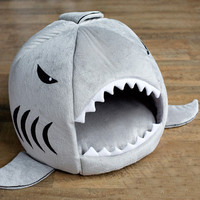 LIMITED TIME ONLY - Shark Pet Bed, Small, Guinea Pig, Kitten, Puppy Bed