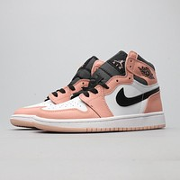 Nike Air Jordan AJ1 cushioning, wear-resistant and comfortable foot basketball shoes