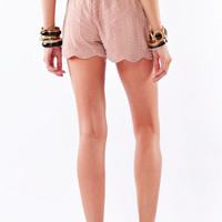Pearl of The Sea Scalloped Shorts