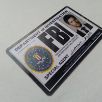 Supernatural FBI Id card Castiel