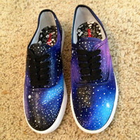 Galaxy Shoes by DonishDesigns on Etsy