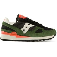 Saucony mesh panelled trainers