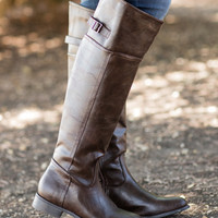 Easy Rider Boots-Chocolate