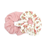 Ditsy Floral Scrunchie Set
