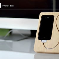SALE. the Chisel iPhone 4, 4s dock. Bamboo, FSC certified. Normally 39.00.