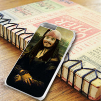 Jack Sparrow As Mona Lisa iPhone 6 Plus | iPhone 6S Plus Case
