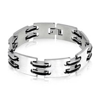 Bling Jewelry Suave Link Bracelet