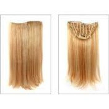 VIP Collection Synthetic Clip-In Extensions / Onyx Style
