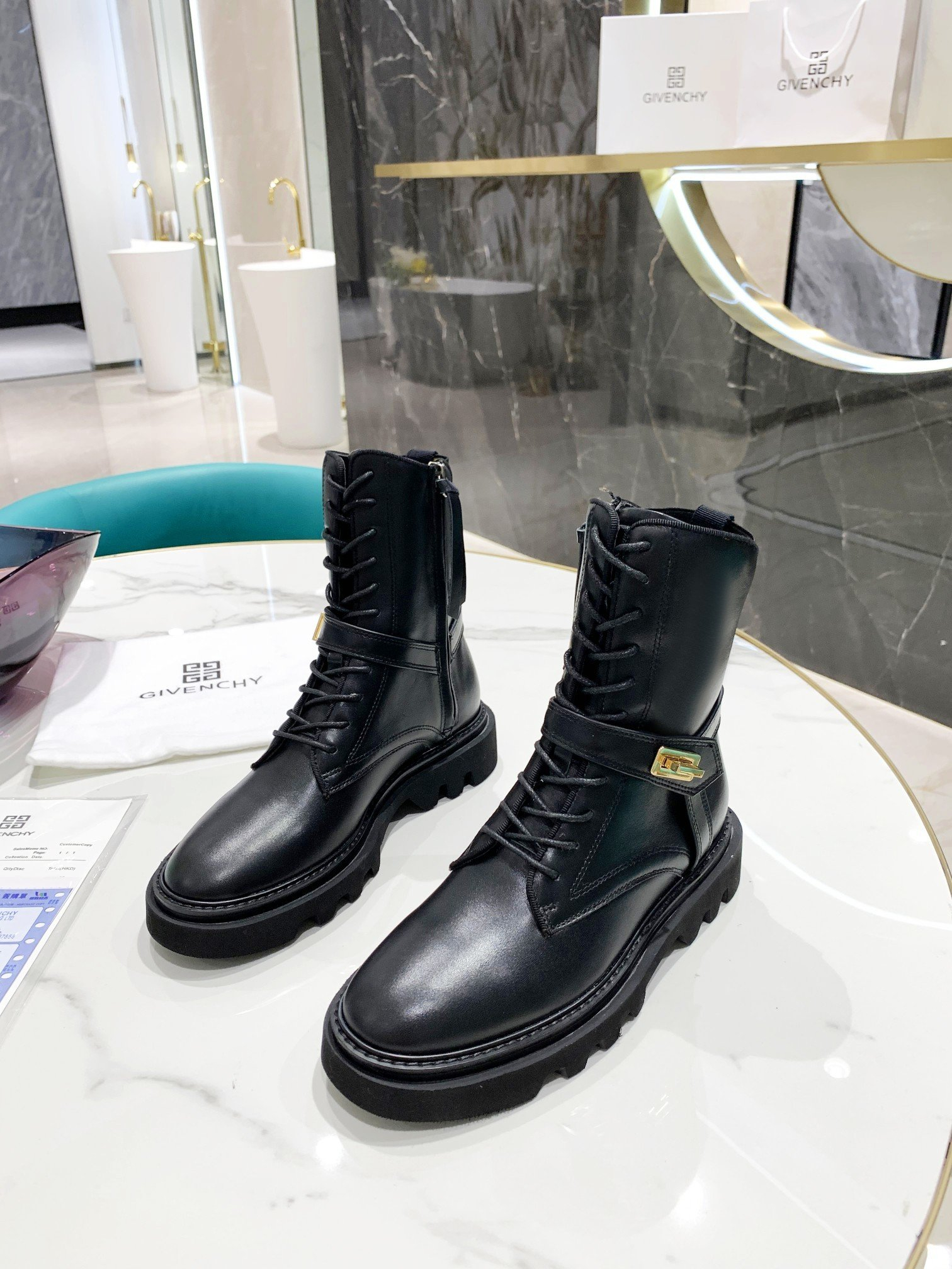 Image of Givenchy Women's 2021 NEW ARRIVALS Fashion Boots Shoes