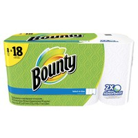 Bounty Select-A-Size Paper Towels, White, 8 Bulk Rolls = 18 Regular Rolls - Walmart.com