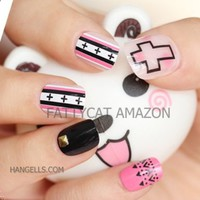 FASHION 3D NAIL ART CANDY GIRL 24 nails Sold By FATTYCAT