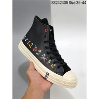 "Disney x Converse Chuck 1970""Mickey"" Cheap fashion men's and Women's Sports shoes"