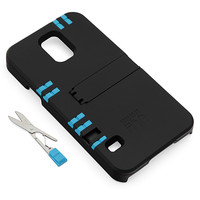 IN1 Multi-Tool Utility Case For Galaxy S5 - Black Case - White Tools