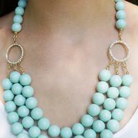 Mint Statement Necklace | Pretty EDGY