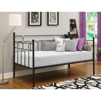 Hayley Twin Daybed, Black - Walmart.com