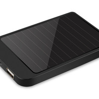 Solar Gadget Charger - 2600mAh Power Bank, Portable