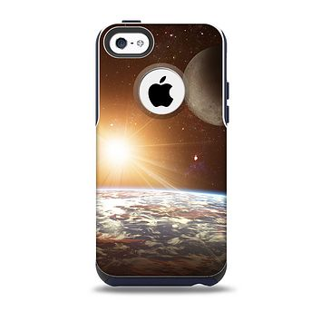 The Earth, Moon and Sun Space Scene Skin for the iPhone 5c OtterBox Commuter Case