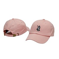 Drake 6 God Praying Hands Pink Dad Hat