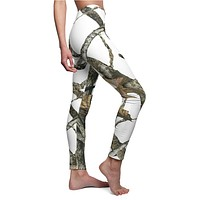 Hunting Pattern White Camo Leggings