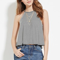 Stripe Ribbed Knit Cami | Forever 21 - 2000187156