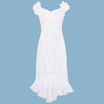 makamae hawaiian niihau beach wedding dress