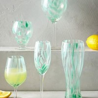 Cumulus Glassware by Anthropologie Moss
