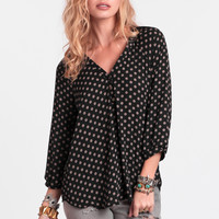 Journey Ahead Printed Blouse