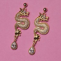 Dragon Queen Earrings