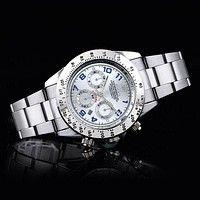 Rolex Men Fashion Quartz Watches Wrist Watch-4