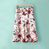 Women's Fashion Summer Stylish Print Slim Skirt [4920002116]