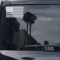 American Flag Vinyl Decal *Choose Size & Color* Stars and Stripes American Flag Vinyl Sticker Die Cut Vinyls America USA Red White Blue