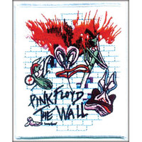 Pink Floyd Men's Embroidered Patch White