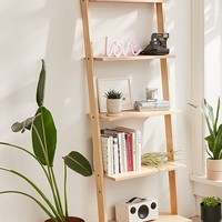 Leaning Book Shelf   Urban Outfitters