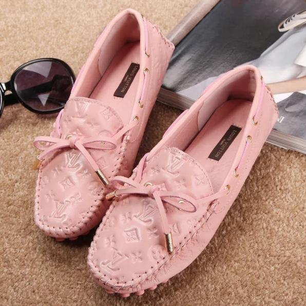 Image of Louis Vuitton LV Women Fashion Casual Moccasin-Gommino Flats Shoes