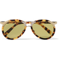 Prada - Aviator-Style Tortoiseshell Acetate and Gold-Tone Sunglasses