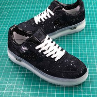 Clot X Nike Air Force 1 Hydro Dipped Black Sport Shoes - Best Online Sale