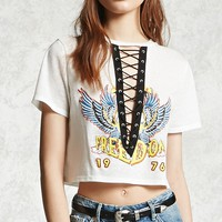 Freedom 1976 Lace-Up Tee