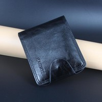 High quality men's leather Wallets men clutch leather male bag Coin Purse card holder male's short wallet drop shipping