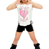 Made U Look Heartbreaker Tee | Mod Angel