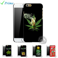 Weed Pot Leaf  It's 4:20 Somewhere SpongeBob Beautiful Girl Phone Case Cover for Apple iPhone 5 5s 4 4s 5c 6 6s plus