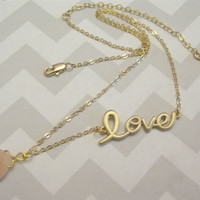 Peachy Love Necklace