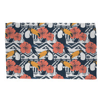 Tribal Pattern with Toucans Rug