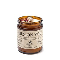 Hex On You Scented Herbal Candle (9oz)