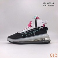 699 Nike Air Max 720 Satrn Hight Breathable Sneakers Knit Casual Fashion Basketball Shoes