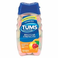 Tums Antacid/Calcium Supplement, Assorted Fruit