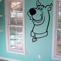 Scooby Doo Wall Decal Car Decal Laptop Sticker Wall Art Nursery Room Decor Nursery Sticker CHOOSE Your SIZE