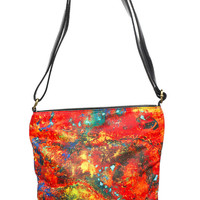 Art Deco Purse   Abstract Art Purse   Abstract Purse   Art Purse   Galaxy Purse   Leather Purse   Leather Shoulder Bag   Leather Sling Purse