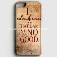 Harry Potter Quote - I Solemnly Swear That I Am Up To No Good iPhone 6 Plus/6S Plus Case | casefantasy