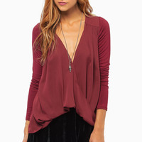 Never Been Draped Top $34